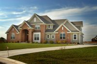 One of several spec house builds in Pleasant Prairie, Wisconsin