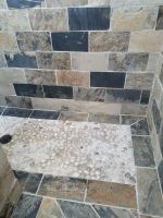 Pebble Stones, for a unique shower stall floor!