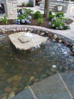 Water features in any yard soothe the soul.